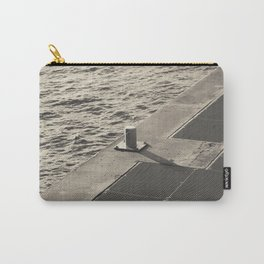 Sea Pier Geometry Carry-All Pouch
