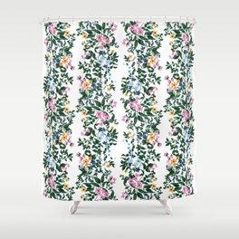 Flowers on Vine Shower Curtain