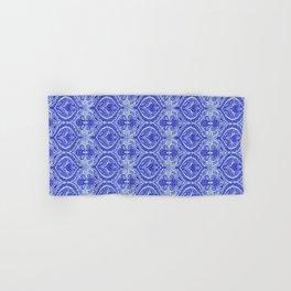 Simple Ogee Blue Hand & Bath Towel