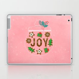 Christmas cookies jar Laptop & iPad Skin