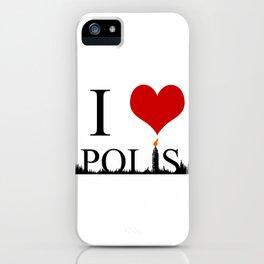 I Heart Polis iPhone Case