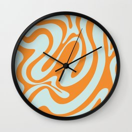 Simple Liquid Shapes Wall Clock
