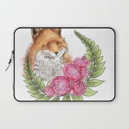 Fox in Bloom Laptop Sleeve