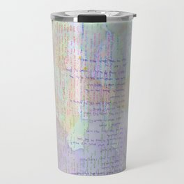 Words and Water Paint Travel Mug