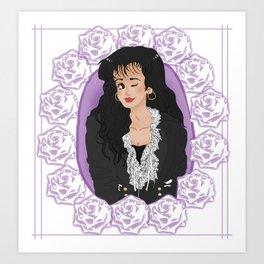 Tejano Queen  Art Print