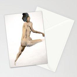 Female Figure Stationery Cards