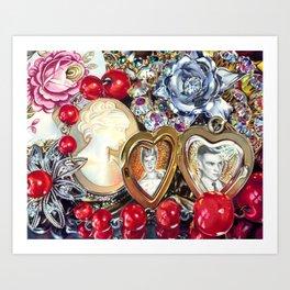 Family Jewels Art Print
