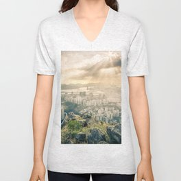 Hey look! It's our city! Unisex V-Neck