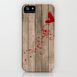 And the birds shall feast... iPhone Case