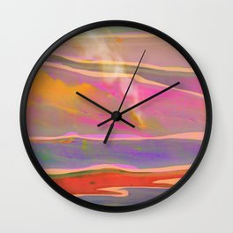 Adventure in the Volcanic Lands - Fumarole Wall Clock