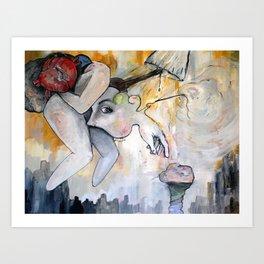 Conscious Cluster Art Print
