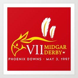 Midgar Derby Art Print