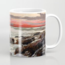 Winslow Homer1 - West Point, Prout's Neck - Digital Remastered Edition Coffee Mug