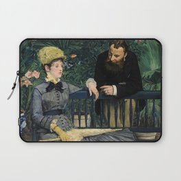 Edouard Manet - In the Conservatory Laptop Sleeve