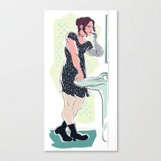 Genderfluid!Bucky Canvas Print