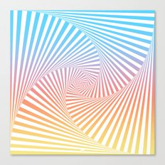 Bakana Summer Twista Canvas Print