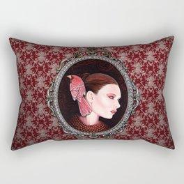 Dame Kardinal fig2 Rectangular Pillow