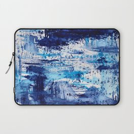 Blue passion || watercolor Laptop Sleeve