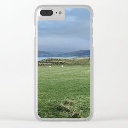 Grazing Sheep, Co Kerry, Ireland Clear iPhone Case