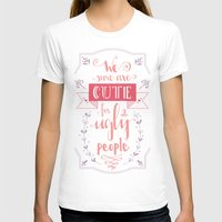 lettering T-shirts featuring Lettering - Juno by aysenur