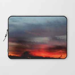 Night Lights Moving Sunset 20 Laptop Sleeve