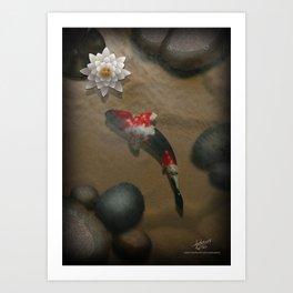 The carp's journey 2 Art Print