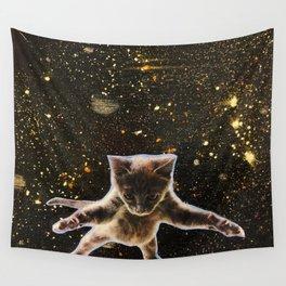 Kitten. In. Space. Wall Tapestry