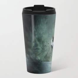 The Intrepid arrives at Carthage - Green Clouds Travel Mug
