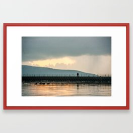 rovin around galway Framed Art Print