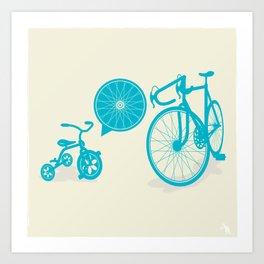 SPOKE Art Print