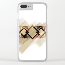 The warrior's belt Clear iPhone Case