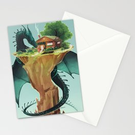 the dragon's bride Stationery Cards
