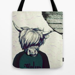 Yak Head Tote Bag