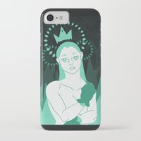 crown iPhone & iPod Cases featuring Crown by Carina rios