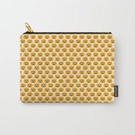 Jack O Lantern Pattern Carry-All Pouch