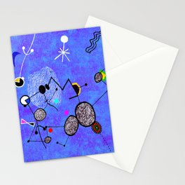 Blue Miro Stationery Cards
