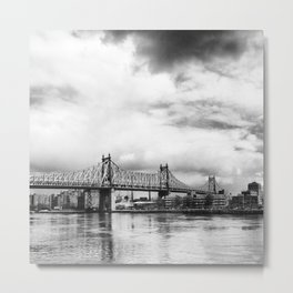 Queensboro Bridge. Metal Print