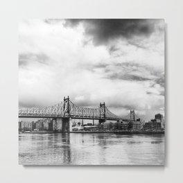 Queensboro Bridge. Metal Print