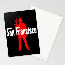 San Francisco mafia Stationery Cards