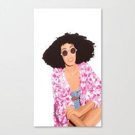 Solange For Asos Canvas Print