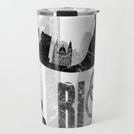 Rio de Janeiro looks like undying flame in grunge style Travel Mug