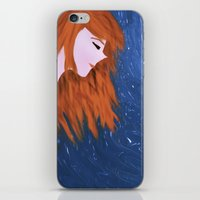amy pond iPhone & iPod Skins featuring Amy by Jo Christine