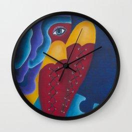 Finding my Feet Wall Clock