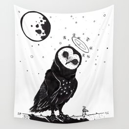 It's Time to go now. Wall Tapestry
