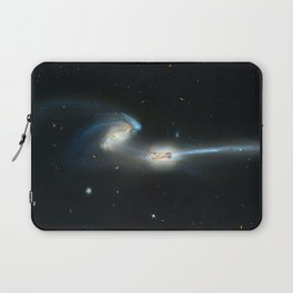 Colliding galaxies, Mice Galaxies, spiral galaxies in constellation Coma Berenices. Laptop Sleeve