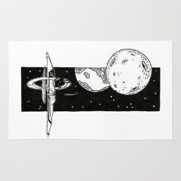 Space Station Rug