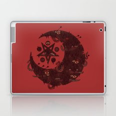 The Dark Moon Compels You to Fuck Shit Up Laptop & iPad Skin