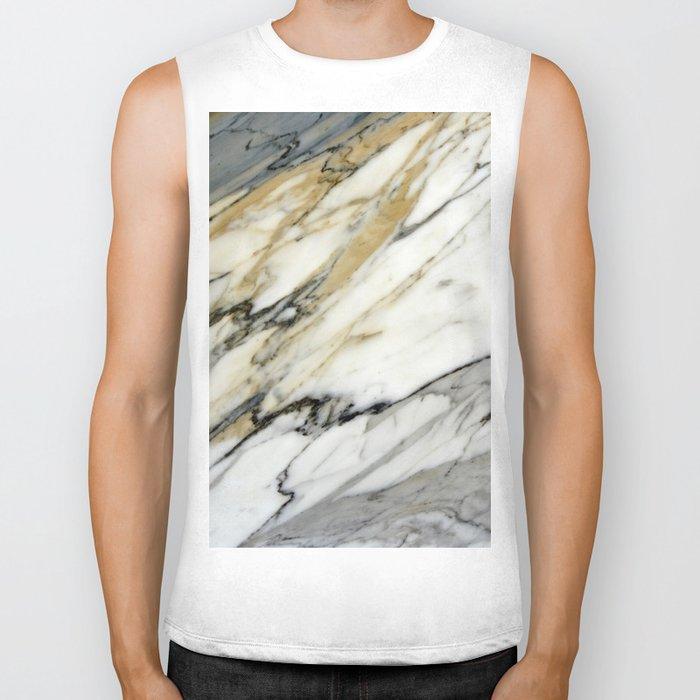 Carrara Marble Biker Tank