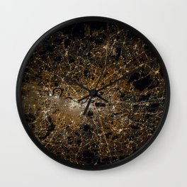 London from above Wall Clock