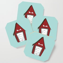 Home Sweet Great Pyrenees Home Coaster